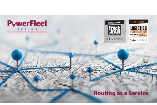 PowerFleet Dynamic Routing at Supply Chain & Logistics Expo